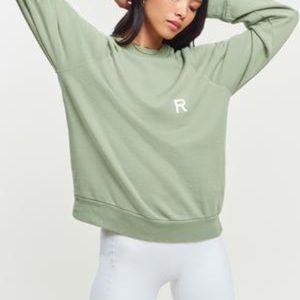 Ragdoll LA oversized sweatshirt light green Sage